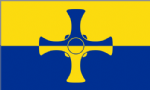 Durham Large County Flag - 5' x 3'.